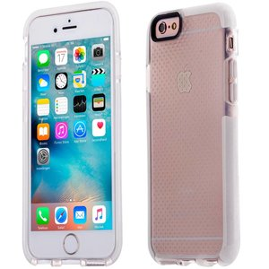 iPhone 6 en 6S Bumper Case Siliconen Shockproof Wit