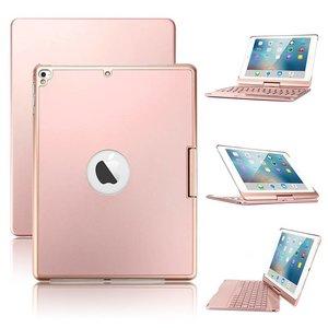 iPad Pro 10.5 inch Toetsenbord Draaibaar RoseGoud