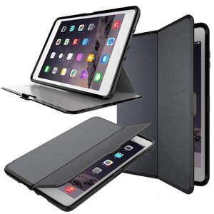 iPad 2018/2017/Air 2/Pro/Air Shockproof Hoes Zwart