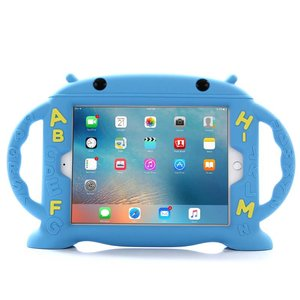 Kinderhoes iPad 2, 3, 4 School ABC Blauw