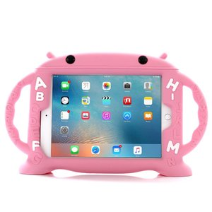 Kinderhoes iPad Mini School ABC Roze