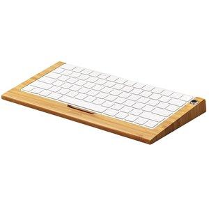Toetsenbord Houder Apple Magic Keyboard Licht Bamboe Hout