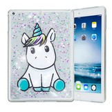 Unicorn Siliconen Bescherm Hoes iPad 2017/2018/Air 1/2