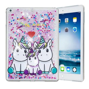 Unicorn Sweet Siliconen Bescherm Hoes iPad 2017/2018/Air 1/2