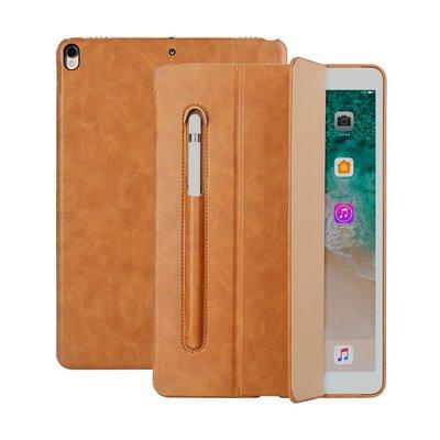 Jison Lederen iPad Case iPad Air 3 10,5 Inch (2019) - Bruin