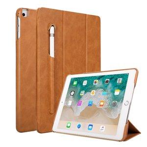 Jison Lederen iPad Case iPad Air 2 9,7 Inch(2018) - Bruin