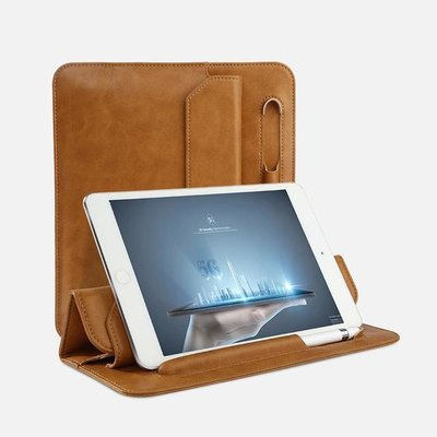 Jison Lederen iPad Sleeve iPad Mini 5 7,9 Inch (2019) - Bruin