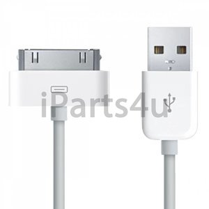 Dockconnector naar USB Kabel iPad, iPod en iPhone Wit