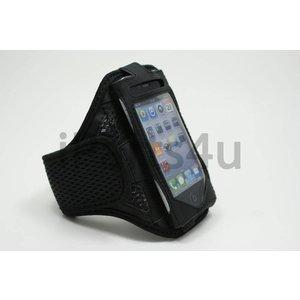 Sport Armband iPhone 4S & iPhone 4 zwart