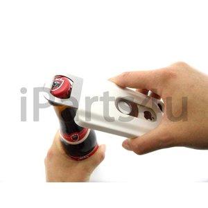 Bier Fles Opener Case voor iPhone 4S & iPhone 4 Wit