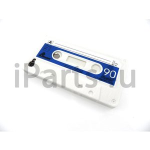 iPhone 4S Cassettebandje hoes wit