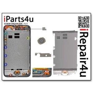 Screworganizer iPod Touch 4 Schroef Mat Overzicht