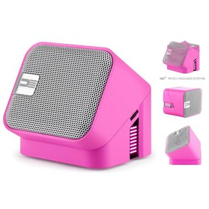 Democracy Draaibare Bluetooth Speaker Roze