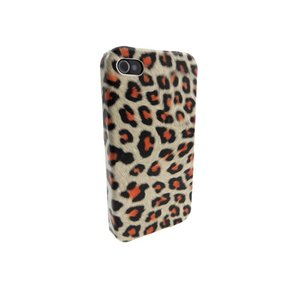 Hardcover Snap Case iPhone 4 Luipaard Panter
