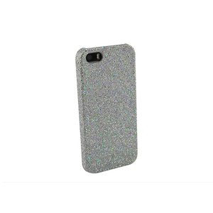 Glitter case iPhone 5 & 5S zilver
