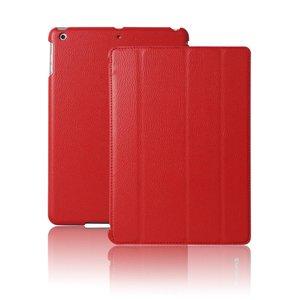 Smartcase iPad Air Hoes Leder Rood