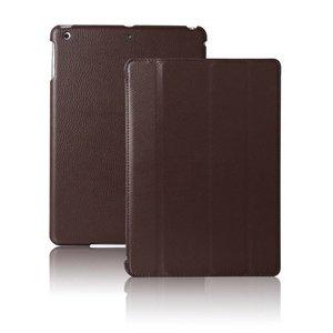 Smartcase iPad Air Hoes Leder donker bruin