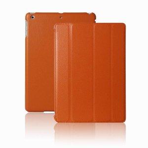 Smartcase iPad Air Hoes Leder Oranje