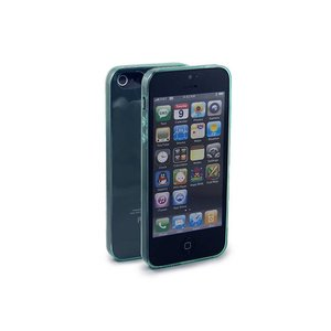 Ultra Dun iPhone 5/5S hoesje Bescherming Uitgangen Groen transp