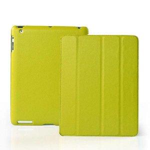 Smartcase iPad Groen Leer