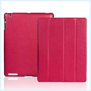 Smartcase iPad Paars Leer