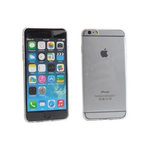 Siliconen Gel TPU iPhone 6 Plus Hoesje Transparant