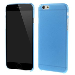 Ultra dunne premium Backcover Case iPhone 6 Plus Blauw