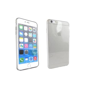 Ultra Dun Siliconen Gel Hoesje iPhone 6 Plus Transparant