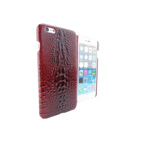 iPhone 6 Plus Hoesje Hardcover Krokodil Rood