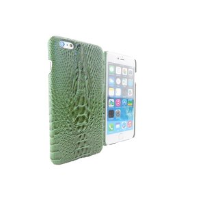 Krokodil Hardcover Snap Case iPhone 6 Plus Croco Groen