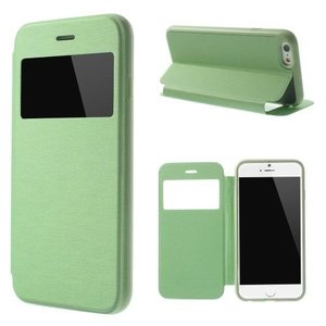 iPhone 6 Plus/6S Plus Bookcase Kijkvenster Groen