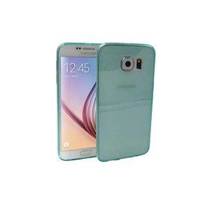 Samsung Galaxy S6 Ultra Dun Siliconen Gel Hoesje Groen