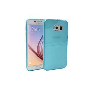 Samsung Galaxy S6 Ultra Dun Siliconen Gel Hoesje Blauw