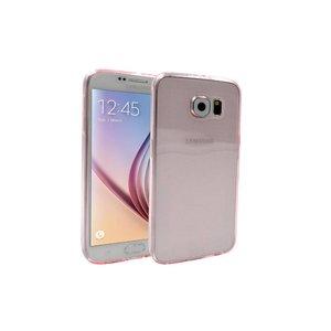 Samsung Galaxy S6 Ultradun Siliconen Hoesje Roze