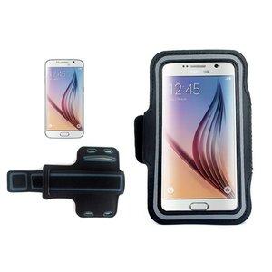 Samsung Galaxy S6 / S6 Edge Sport Armband Zwart