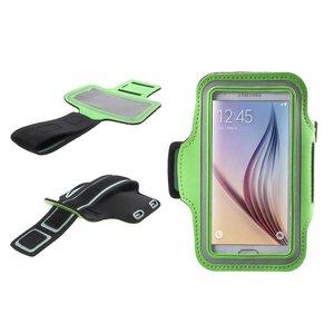 Samsung Galaxy S6 / S6 Edge Sport Armband Groen
