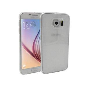 Samsung Galaxy S6 Siliconen Hoesje Transparant