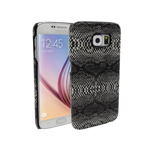 Samsung Galaxy S6 Backcover Slangen Print Zwart