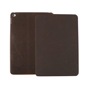 iPad Air 2 Hoes Leder Vintage Look Bruin