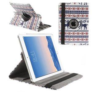 iPad Air 2 Hoes 360 Graden Leder Foute Kerst Wit