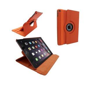 iPad Air 2 Leder Hoes Draaibaar 360 Graden Oranje