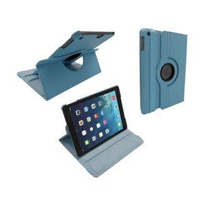 iPad 2017/iPad Air Hoes Draaibaar 360 Lichtblauw