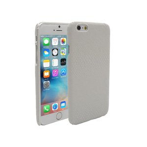 iPhone 6 en 6S Hoesje Hardcover Slangen Print Wit