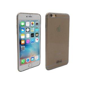 iPhone 6S Plus Hoesje Ultra Dun Siliconen Zwart Transparant