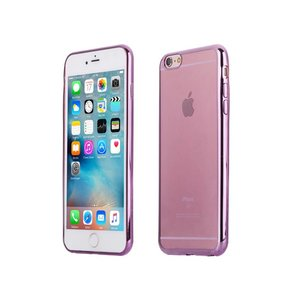 iPhone 6/6S Bumper Case Siliconen Ultra Dun Roze