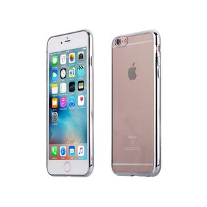 iPhone 6 Plus / 6S Plus Bumper Case Siliconen Zilver