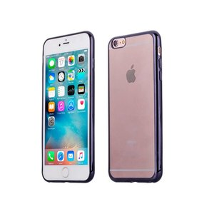 iPhone 6 Plus / 6S Plus Bumper Case Siliconen Zwart