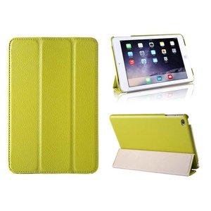 iPad Mini 4 Smart Case Hoes Leder Groen
