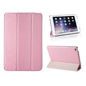 iPad Mini 4 Smart Case Hoes Leder Roze