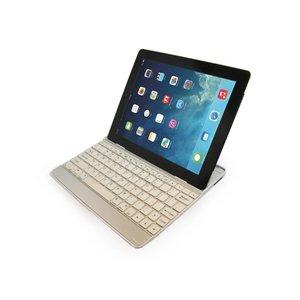 iPad Air Aluminium Toetsenbord Keyboard Case Wit